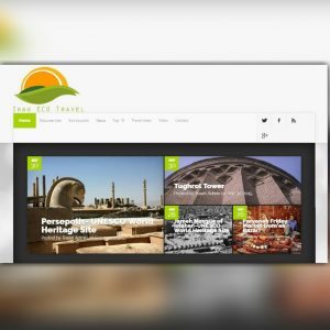 طراحی وب سایت ایران تراول