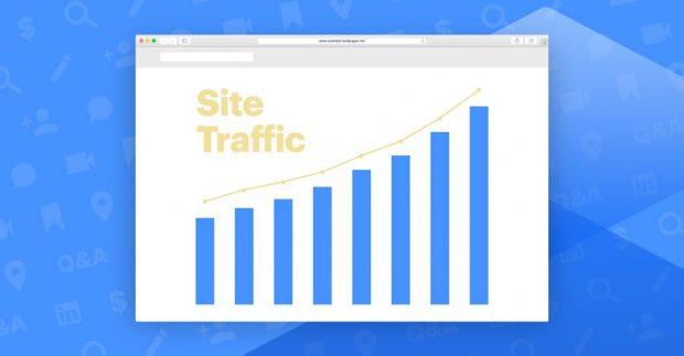 ترافیک وبسایت