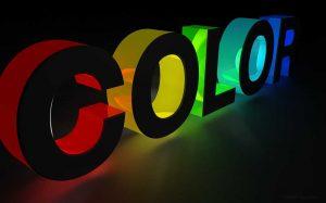 نکاتی در رابطه با رنگ وب سایت