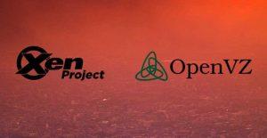 تفاوت OpenVZ و Xen چیست
