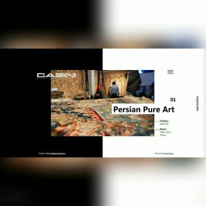 طراحی وب سایت فرش گائینی