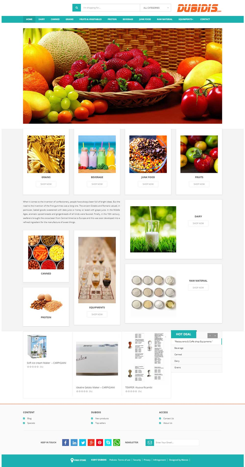 طراحی سایت فروشگاهی در کرج