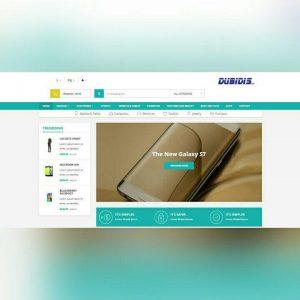 طراحی وب سایت دابیدیس