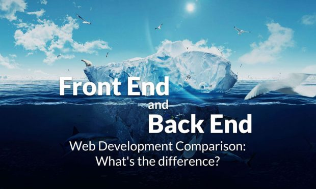 back end و front end