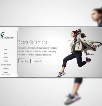 طراحی وب سایت شرکتی شرکت کیان آذر