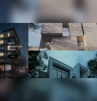طراحی سایت معماری Artviz