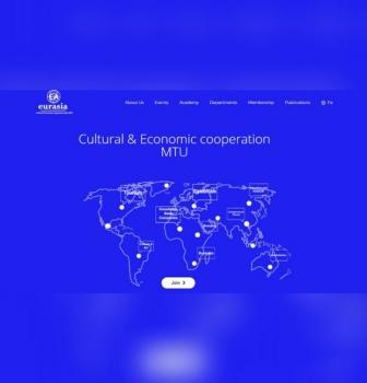 طراحی سایت اتحادیه اوراسیا