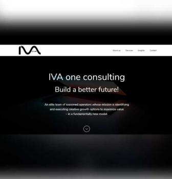طراحی وب سایت شرکتی IVA One