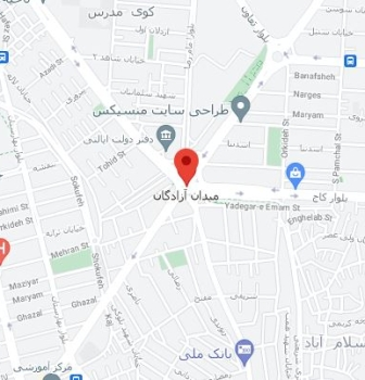 طراحی سایت در میدان آزادگان
