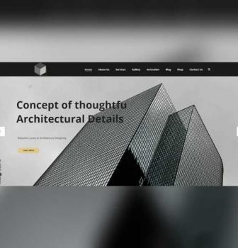 طراحی سایت گروه معماری California Gray