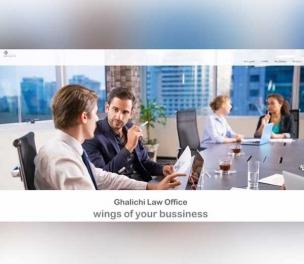 طراحی سایت دفتر حقوقی قالیچی