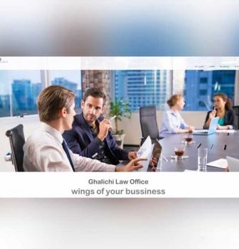 طراحی سایت شرکتی دفتر حقوقی قالیچی