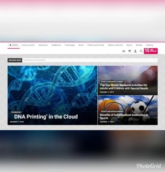 طراحی سایت خبری جاوجا