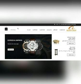 طراحی وب سایت فروشگاهی ارزکالا