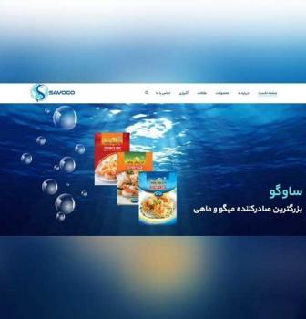 طراحی وب سایت شرکتی ساوگو